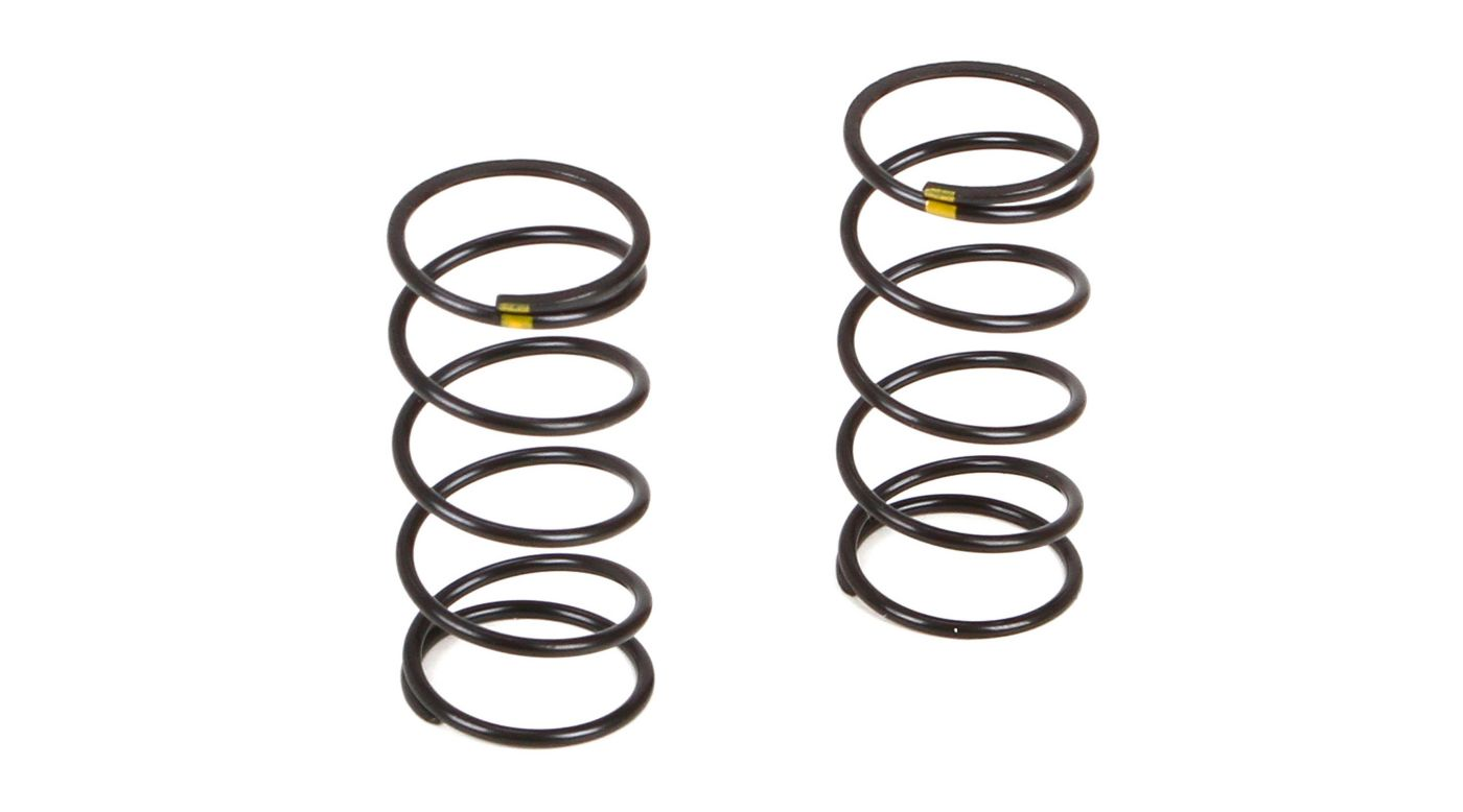 Image for Front Shock Spring Soft Yellow (2): TWH from HorizonHobby