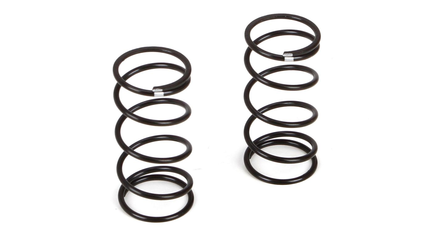 Image for Front Shock Spring Medium Silver (2): TWH from HorizonHobby