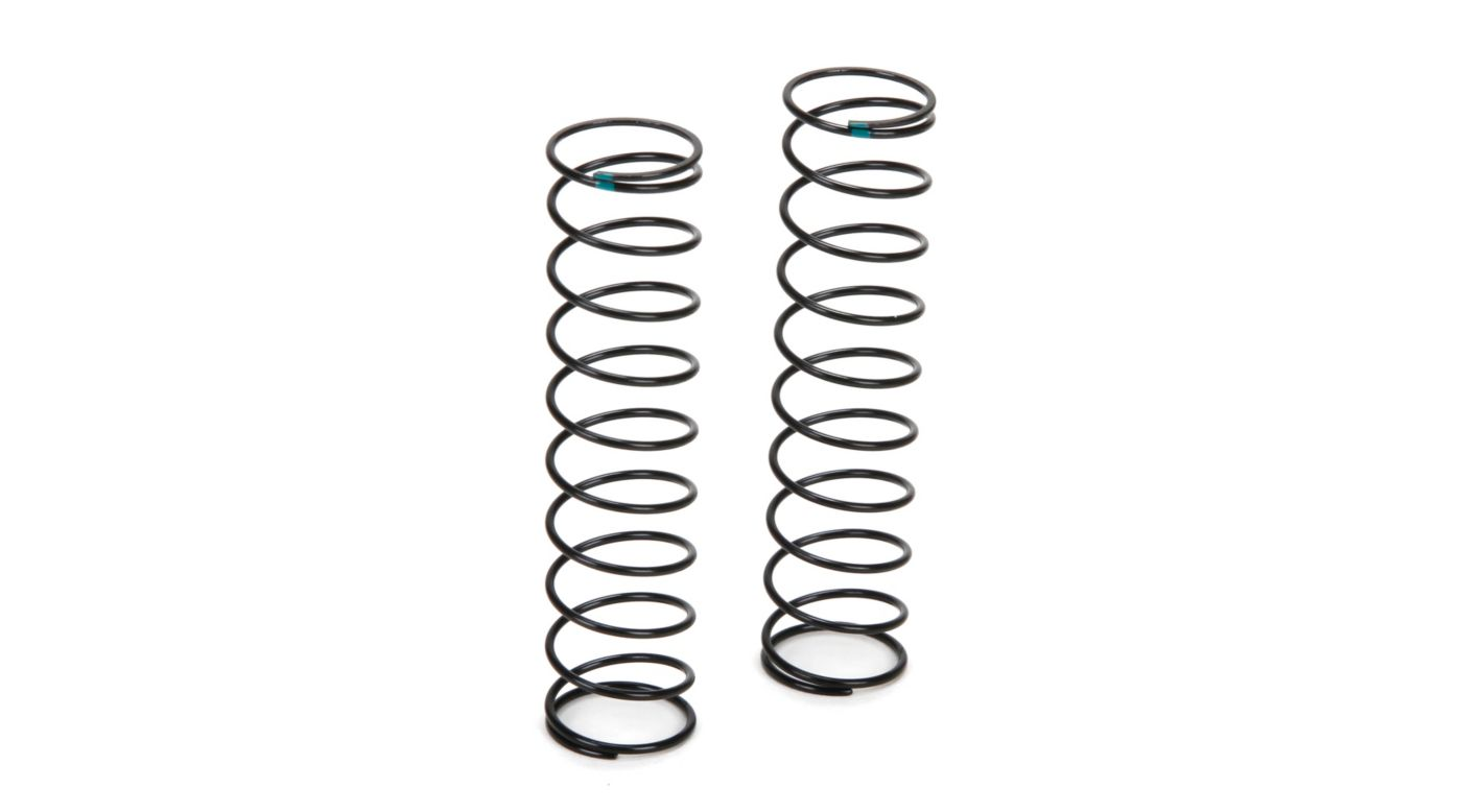 Image for Rear Shock Spring Firm Green (2): TWH from HorizonHobby