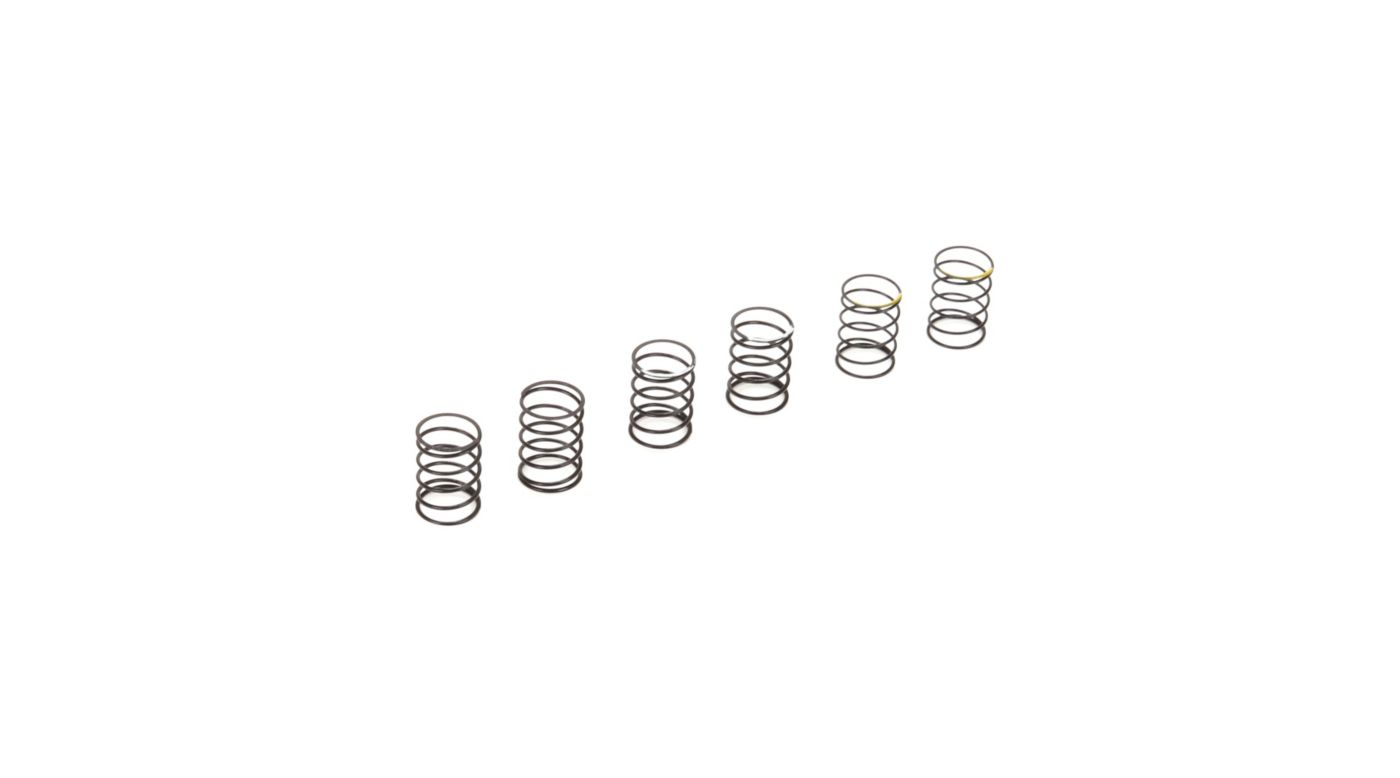 Image for Upper Shock Spring Set Soft, Medium, Hard (2): ASN from HorizonHobby
