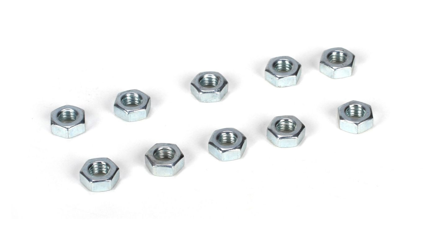 Image for M4 Flat Nut (10) from HorizonHobby