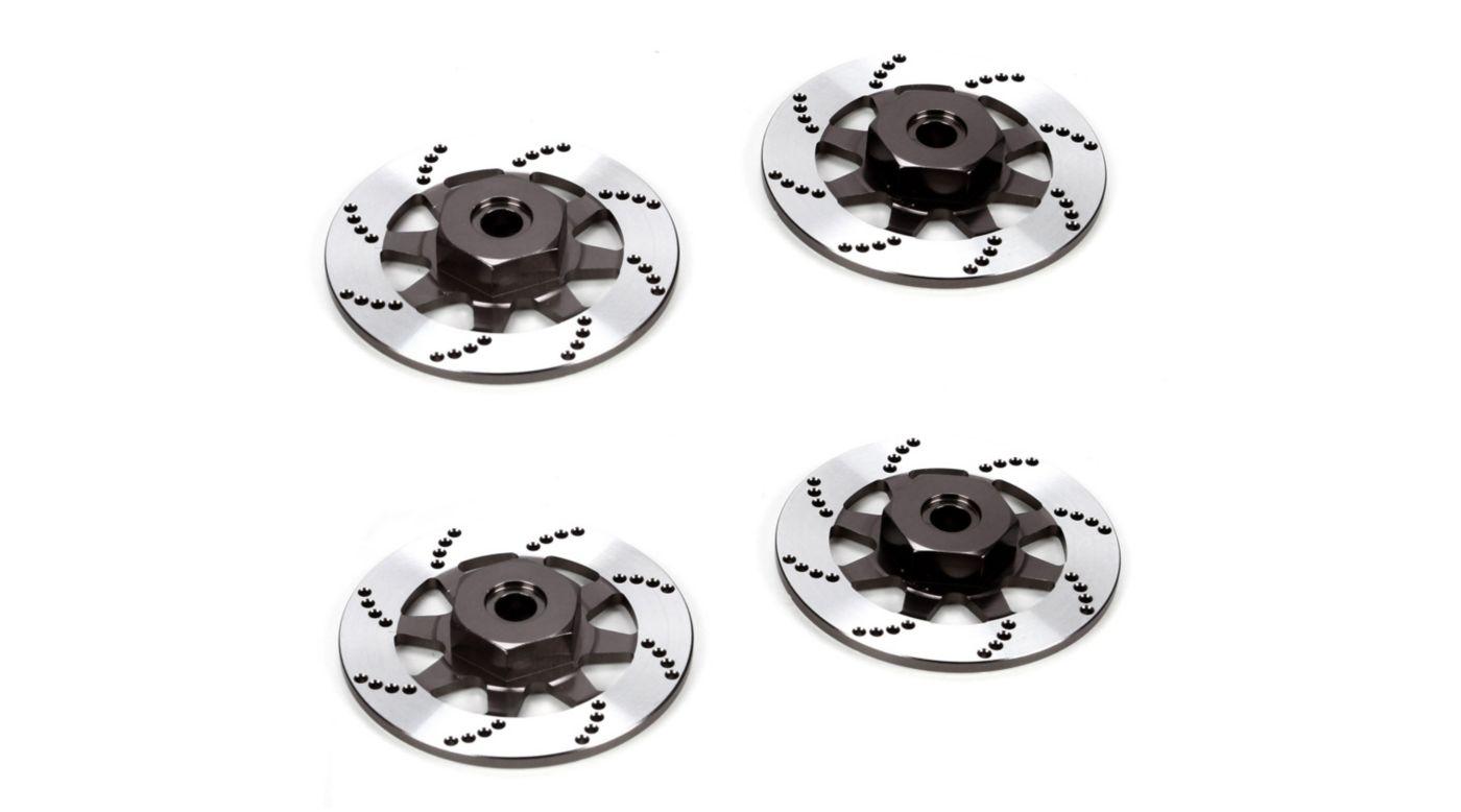 Image for 12mm Hex, Brake Rotor, Aluminum: V100 from HorizonHobby