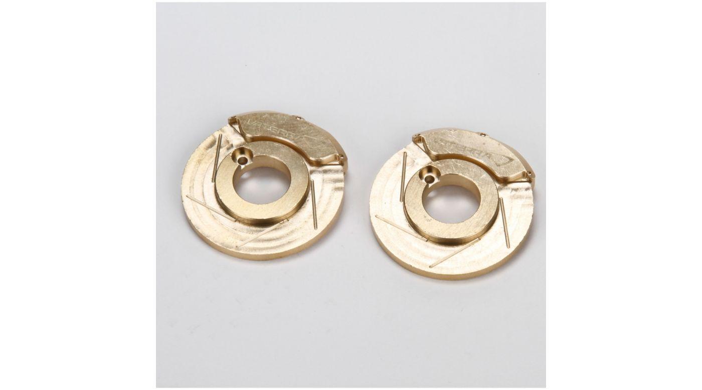 Image for Brake Caliper/Rotor Weight, Brass; (2), ASN from HorizonHobby