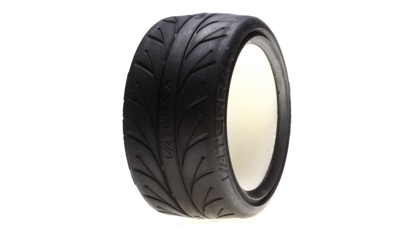 Image for 1/10 Rear 67x30mm V1 Performance S Compound Tire with Inserts (2): V100 from HorizonHobby