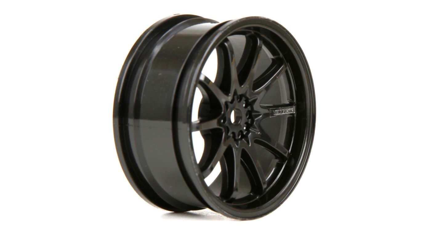 Image for Wheel FR Volk Racing CE28N 54x26mm Black (2) from HorizonHobby