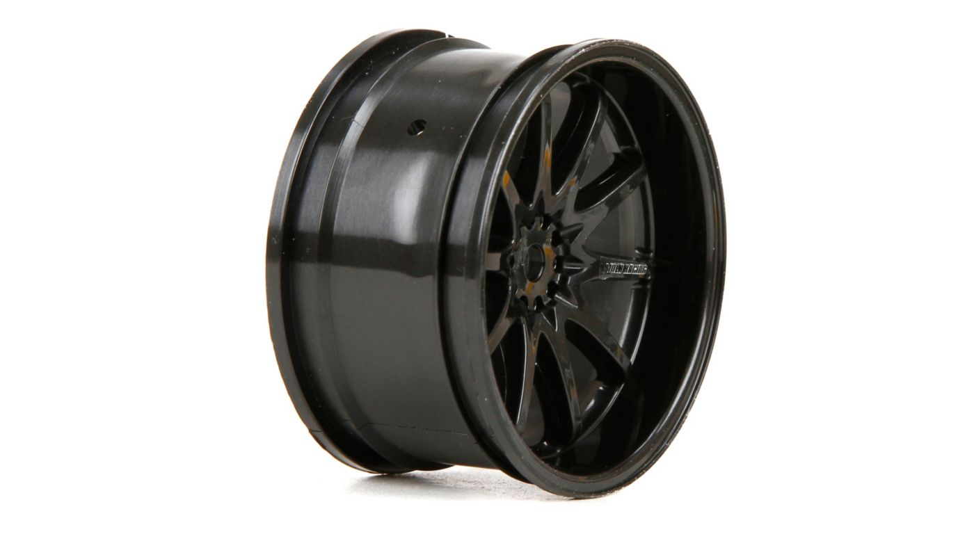 Image for Wheel RR Volk Racing CE28N 54x30mm Black (2) from HorizonHobby