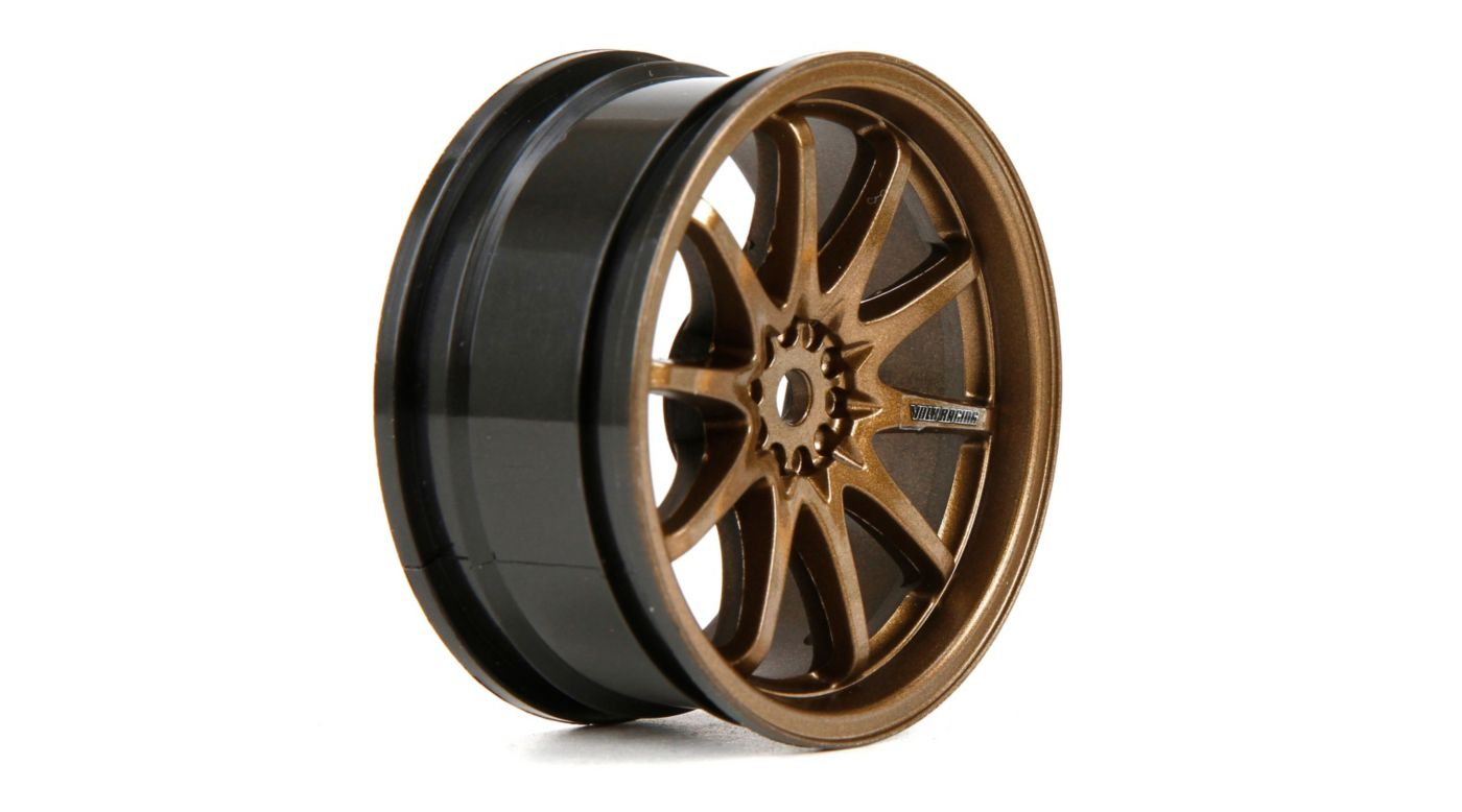 Image for Wheel FR Volk Racing CE28N 54x26mm Bronze (2) from HorizonHobby