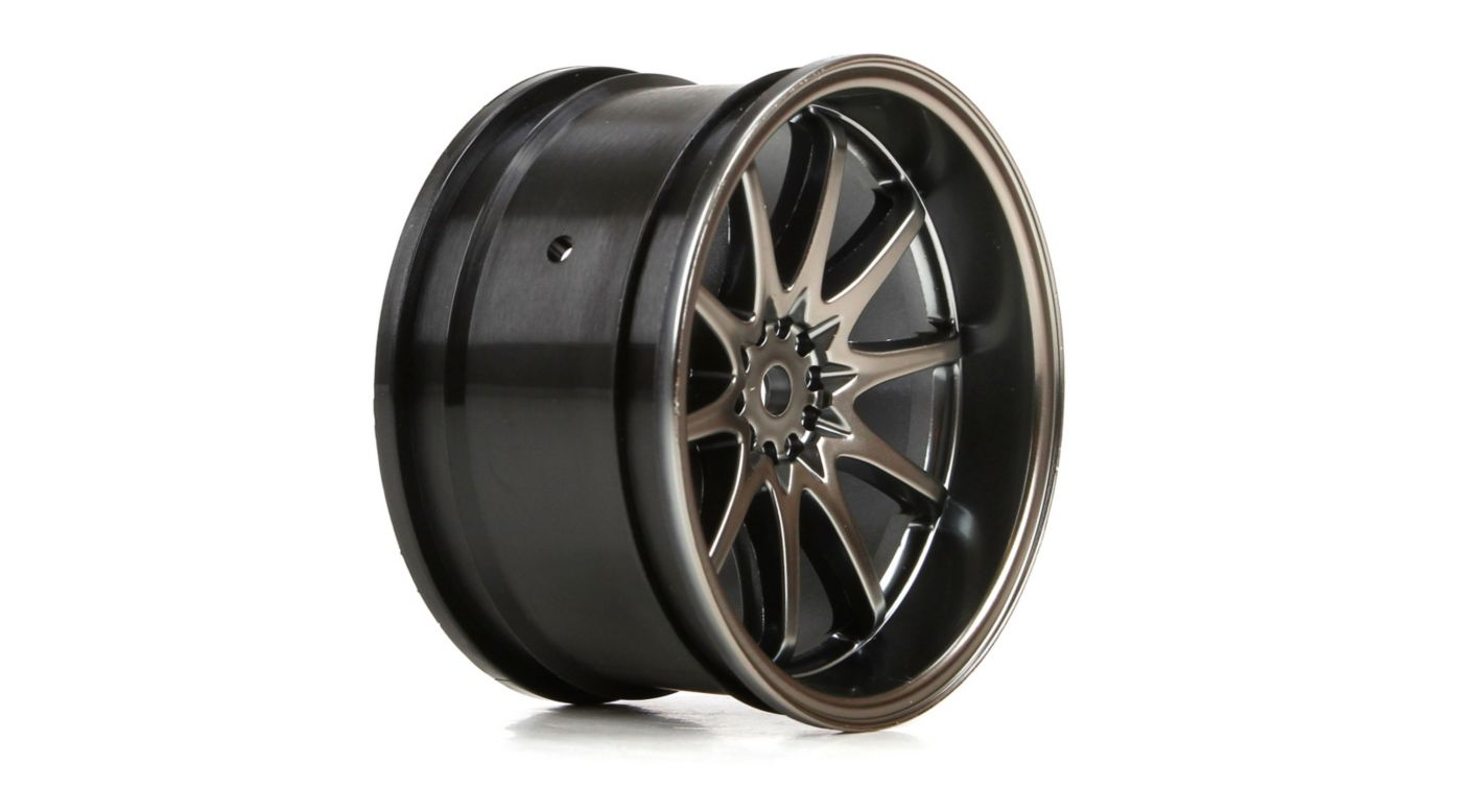 Image for 1/10 Rear 54x30mm Volk Racing CE28N Wheels, Gun Metal (2) from HorizonHobby