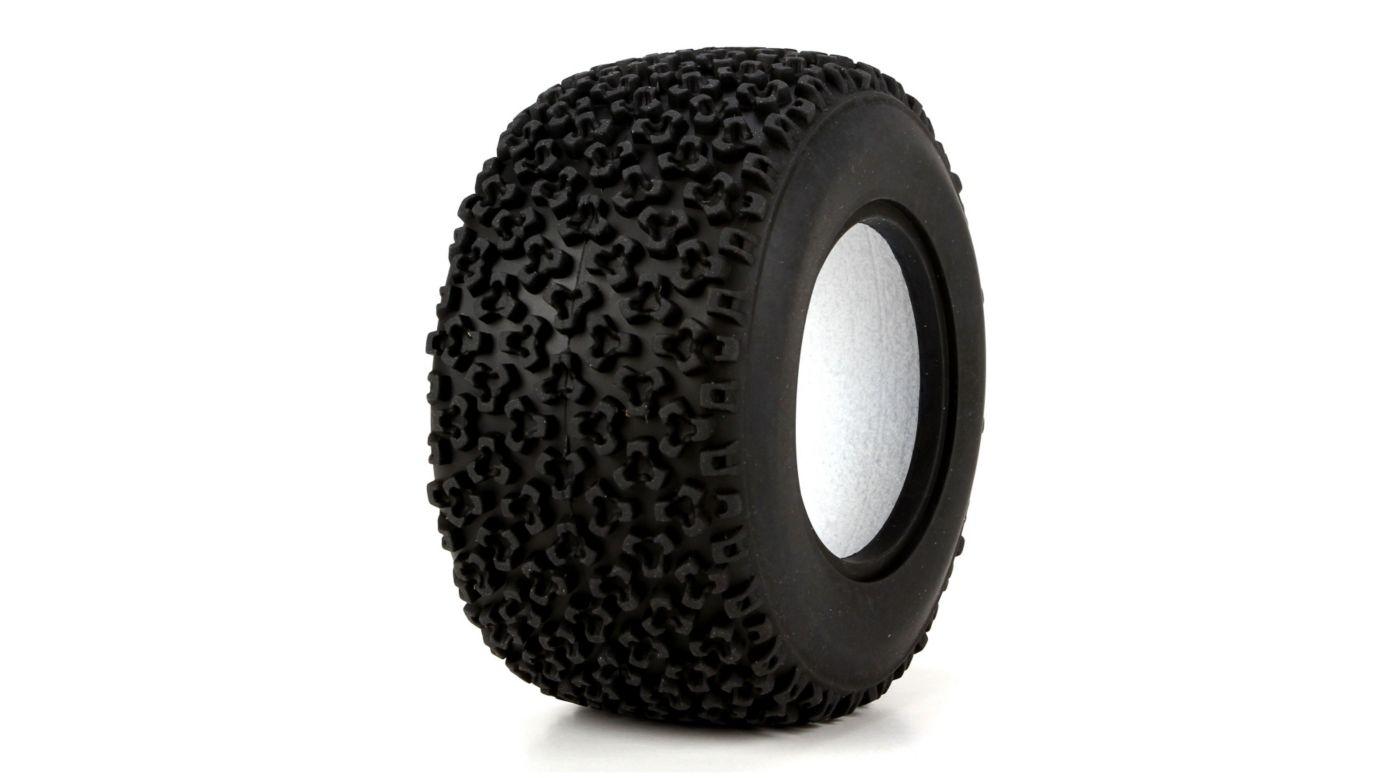 Image for Rear Tire, Tetrapod with Foam, Soft, 50mm (2): GLU from HorizonHobby