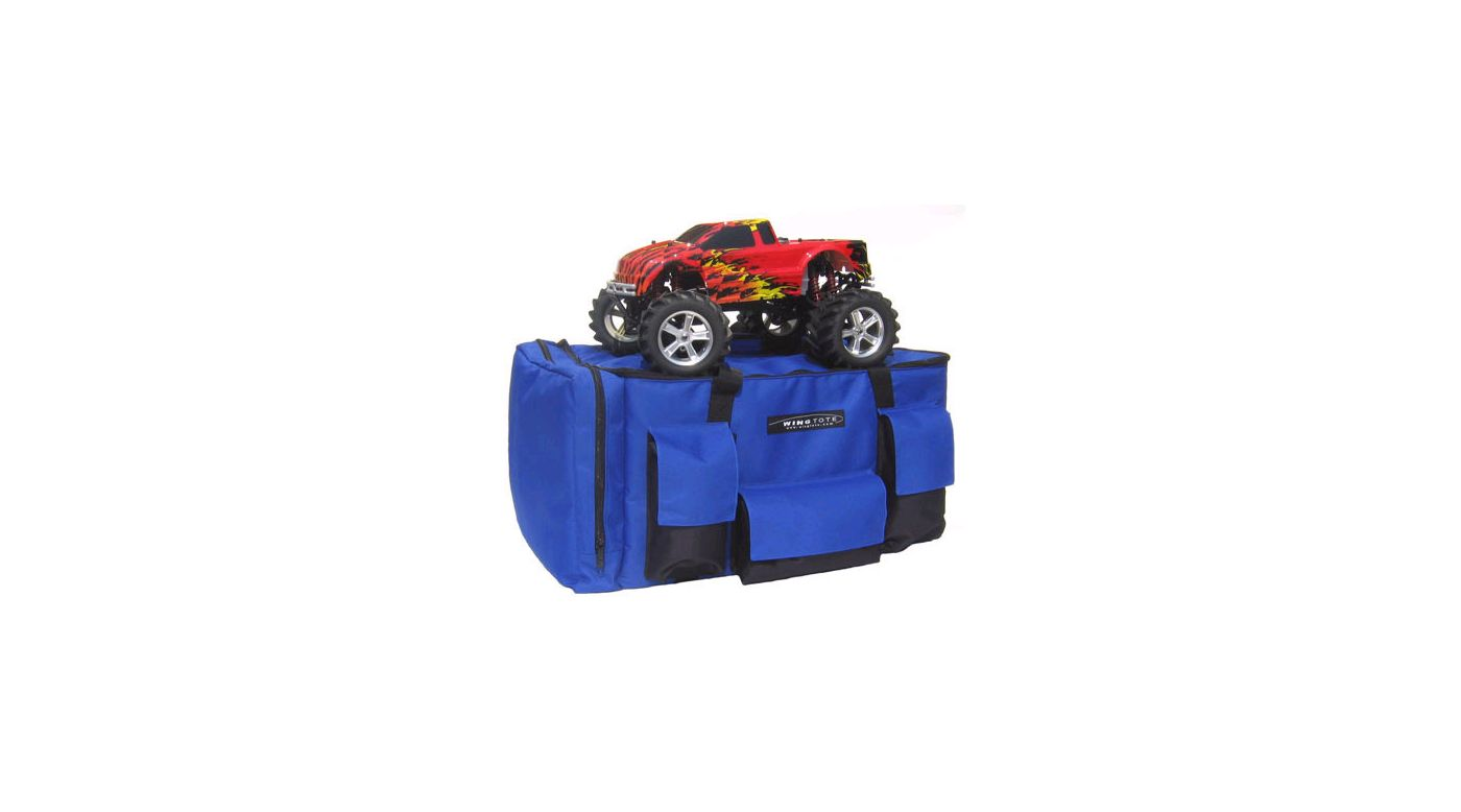 Image for Car/Truck Standard Tote, Blue: 1/8 Monster Truck from HorizonHobby