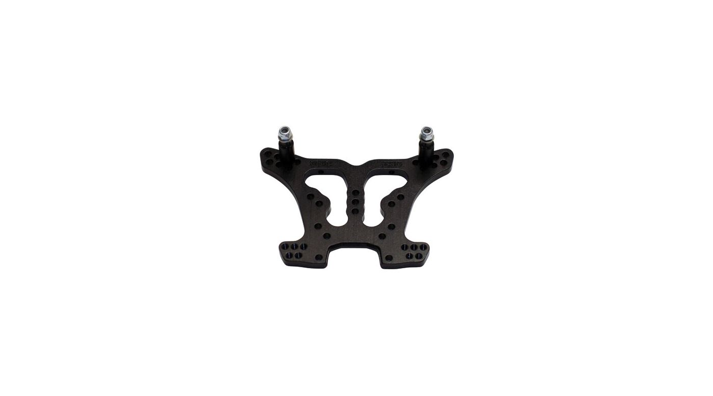 Image for Aluminum Rear Shock Tower, Black: SLH 4x4 from HorizonHobby