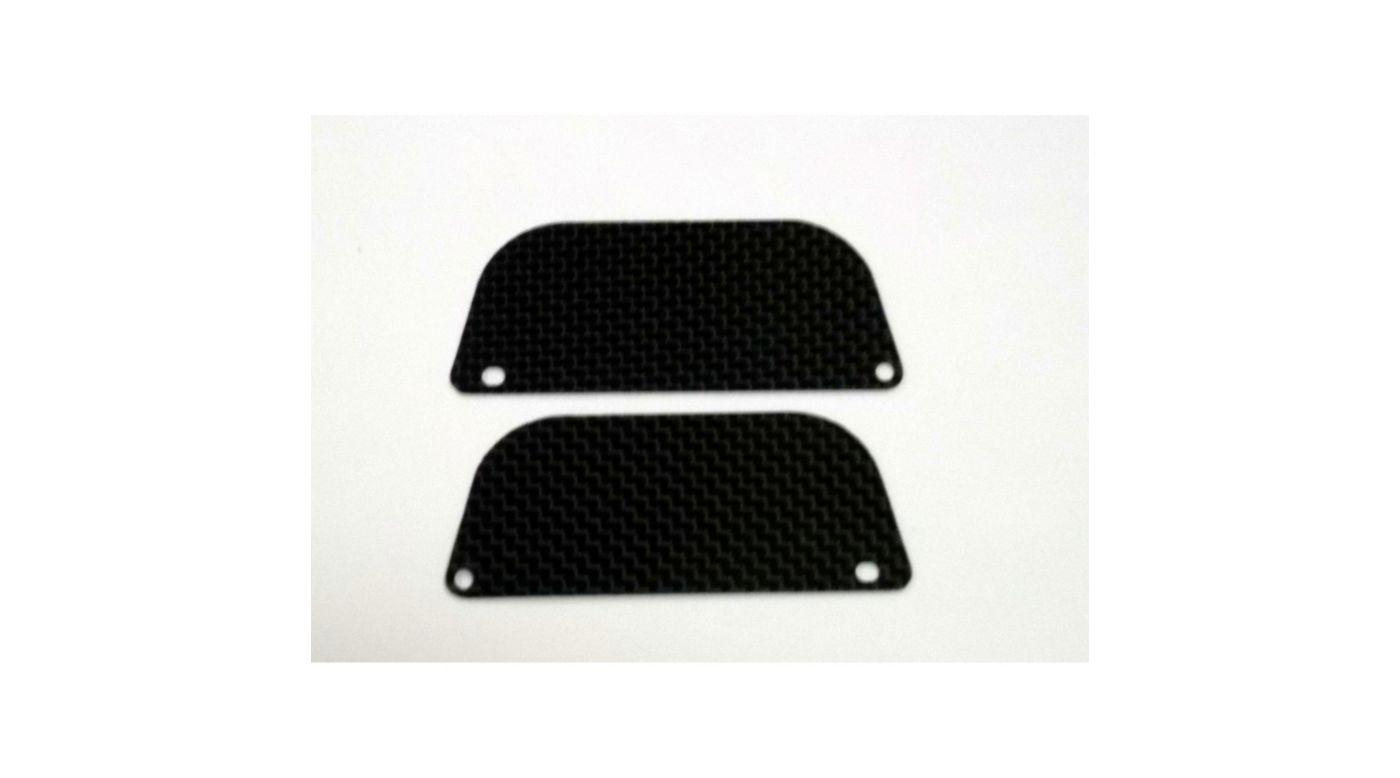 Image for Carbon Fiber Rear Wheel Guards, 2ea, Mini 8ight Truggy from HorizonHobby