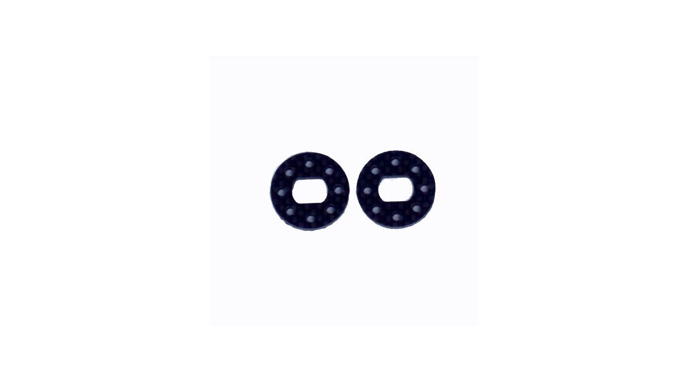 Image for Carbon Fiber Brake Disk (2), Black: 10-T from HorizonHobby