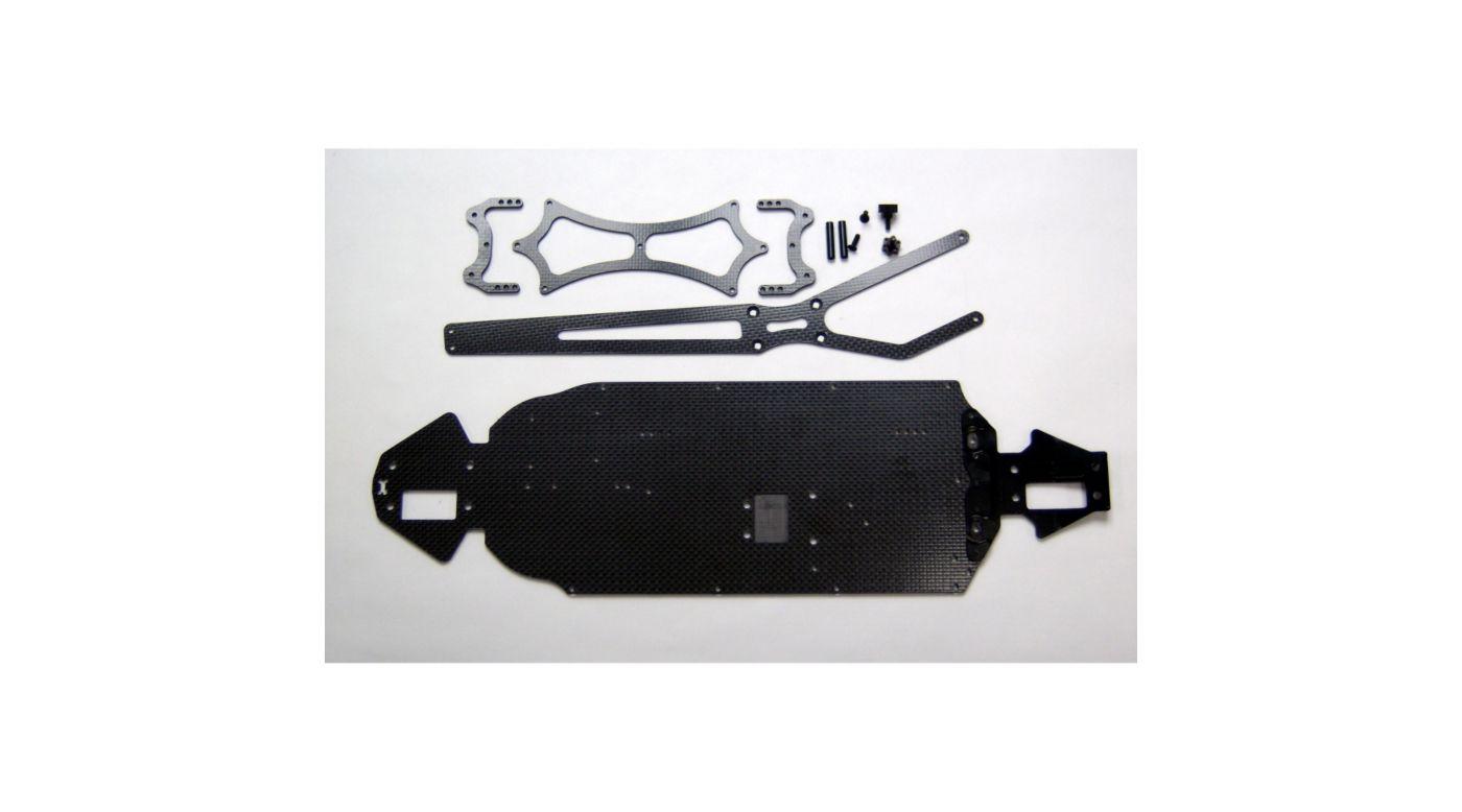 Image for Aluminum Carbon Fiber Chassis Kit: Losi SCTE from HorizonHobby