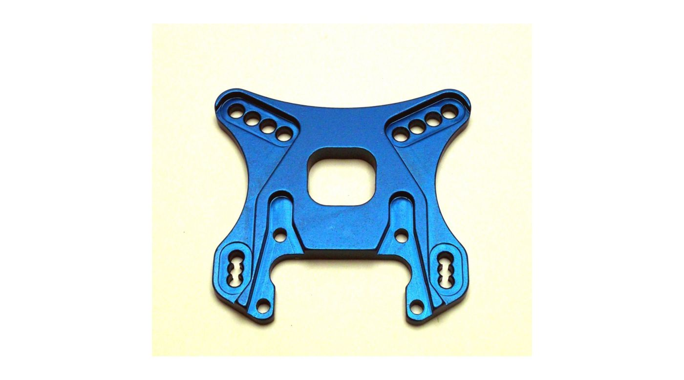 Image for Aluminum Front Shock Tower, Blue: Losi 5ive from HorizonHobby