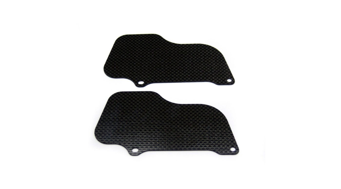 Image for Carbon Fiber Rear Wheel Mud Guards (2): Losi 5ive from HorizonHobby