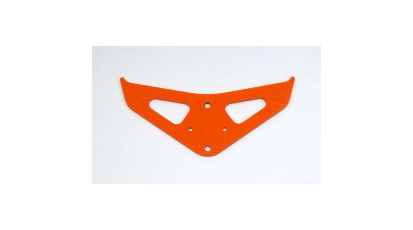 Image for G-10 Boom Fin, Orange: Blade 450 from HorizonHobby