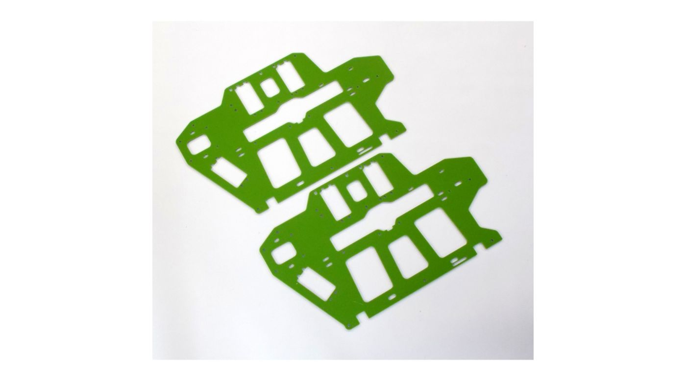 Image for G-10 Frame Set, Green, 2.0mm: Blade 550 X, 600 X from HorizonHobby