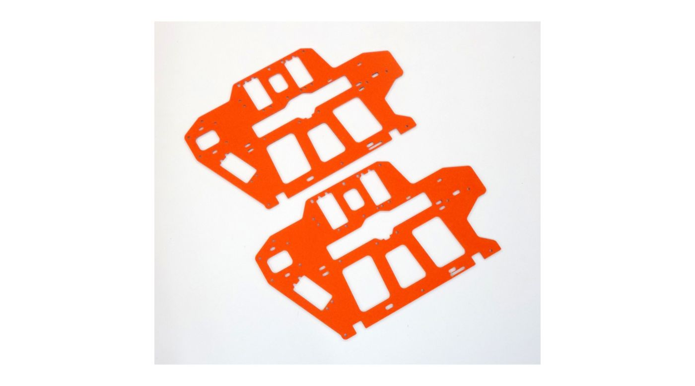 Image for G-10 Frame Set, Orange, 2.0mm: Blade 550 X, 600 X from HorizonHobby