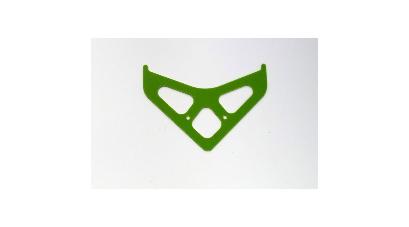 Image for G-10 Boom Fin, Green: Blade 550 X, 600 X from HorizonHobby