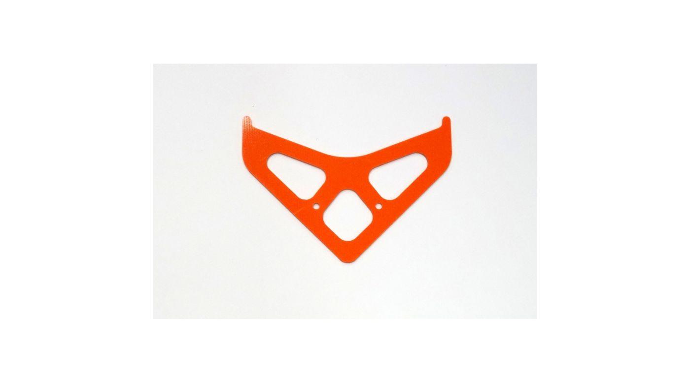 Image for G-10 Boom Fin, Orange: Blade 550 X, 600 X from HorizonHobby