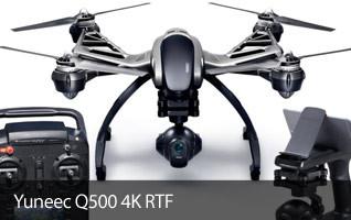 Yuneec Q500 4K Typhoon H RTF Camera Drone