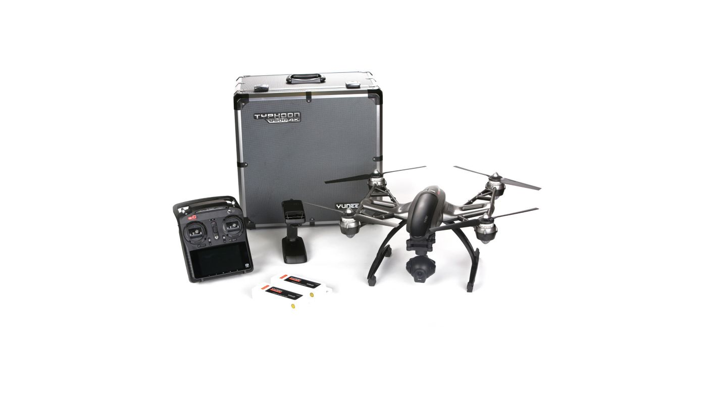 Image for Q500 4K RTF with ST10+, CGO3, 2 Battery, SteadyGrip, Case from HorizonHobby