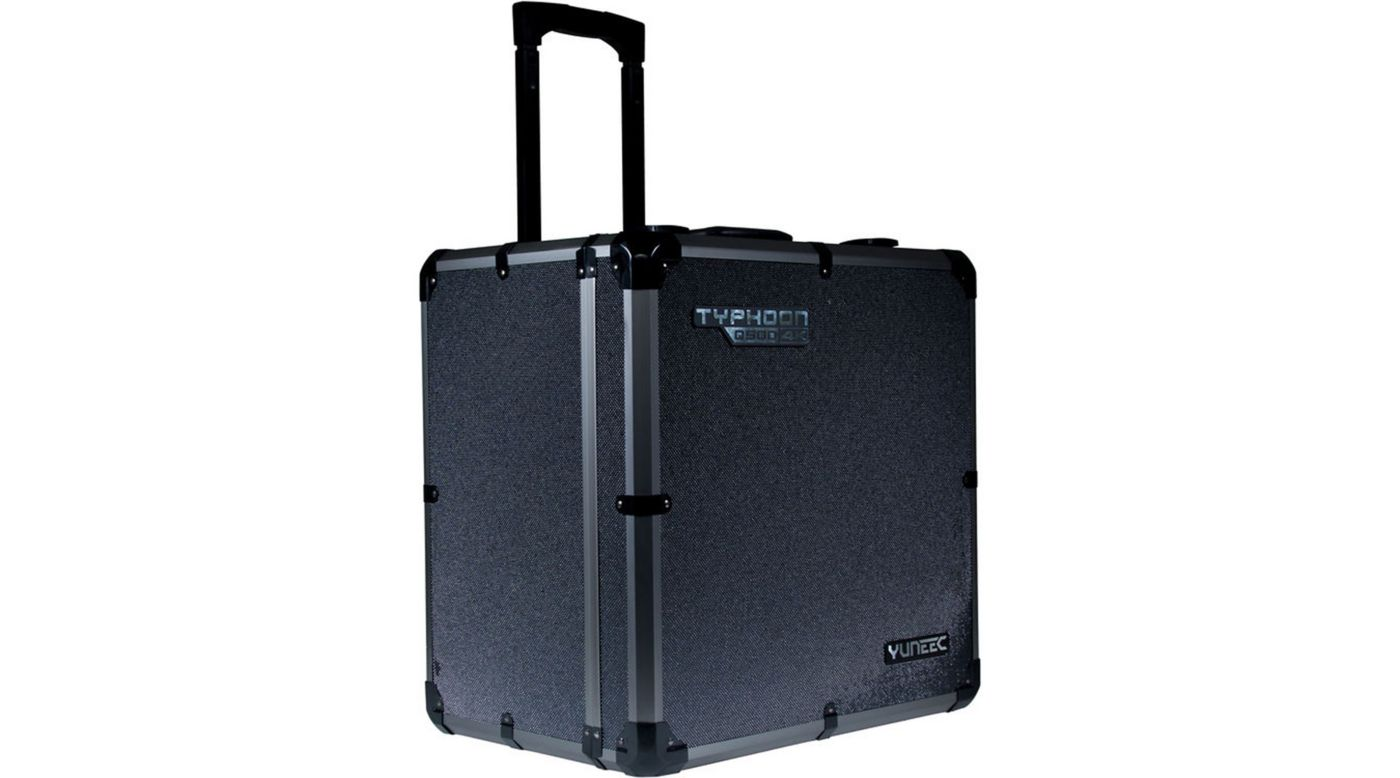 Image for Aluminum Case/Box with Trolley Handle: Q500 4K from HorizonHobby