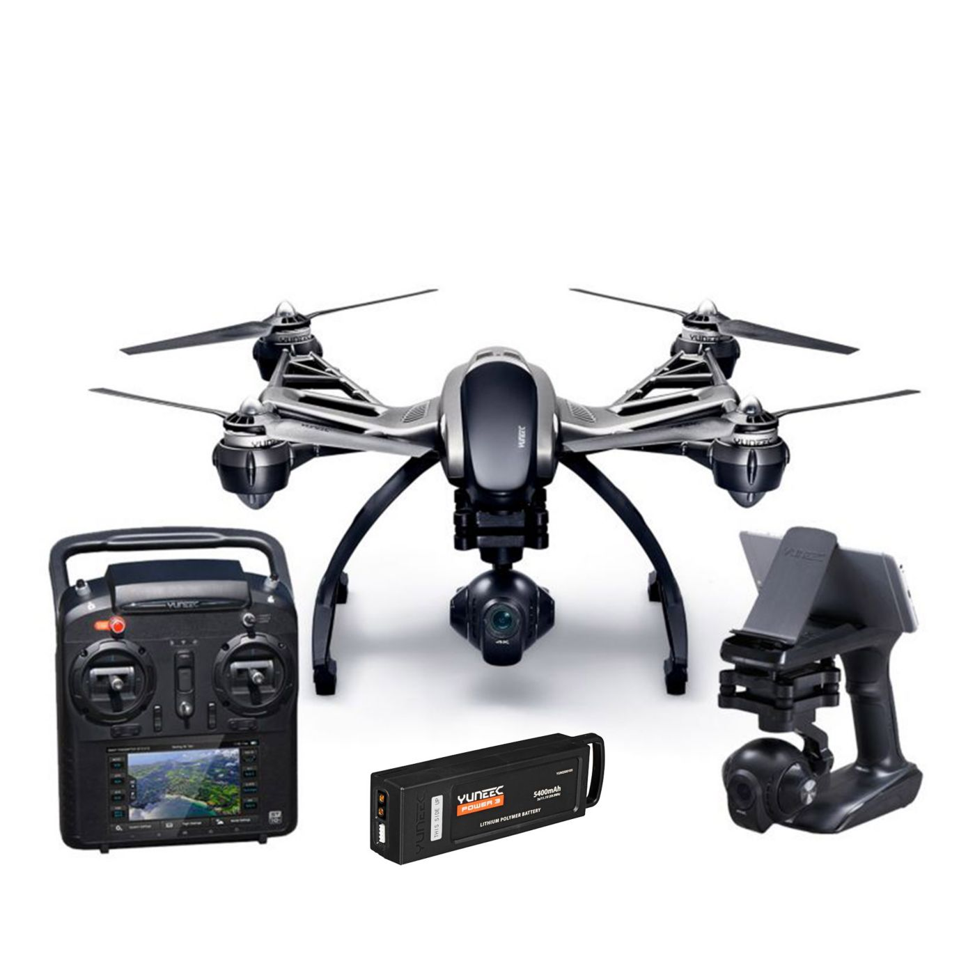 Image for Q500 4K RTF with ST10+, CGO3, 1 Battery, SteadyGrip from HorizonHobby