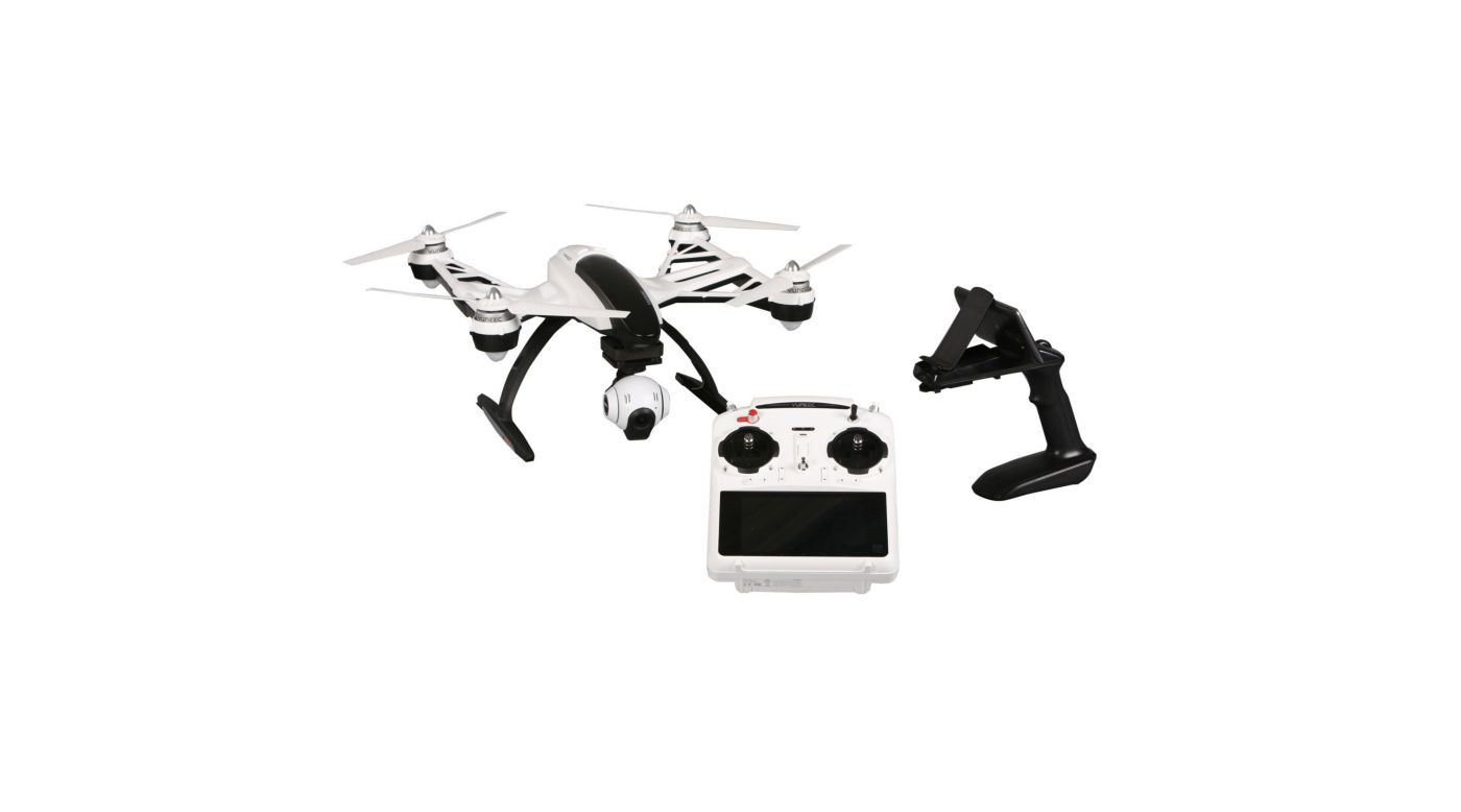 Image for Q500+ RTF with CGO2+, ST10+, Battery, SteadyGrip from HorizonHobby