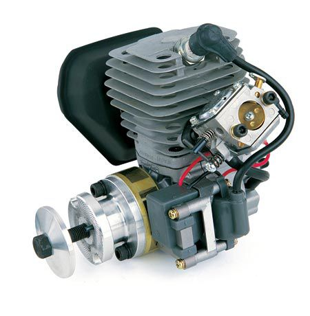g45 engine 2 8 cu in horizonhobby rh horizonhobby com Zenoah G26 Zenoah G38