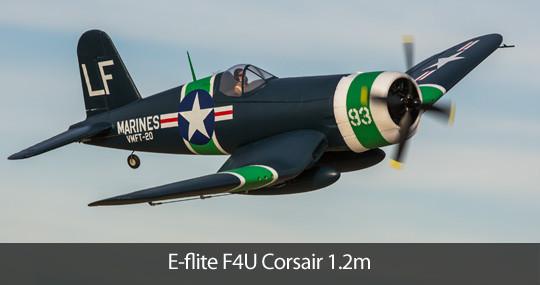 E-Flite F4U Corsair 1.2m