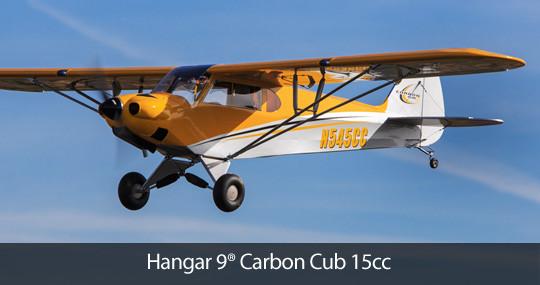 Hangar9 Carbon Cub 15cc