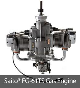 Saito FG-61TS Gas Engine