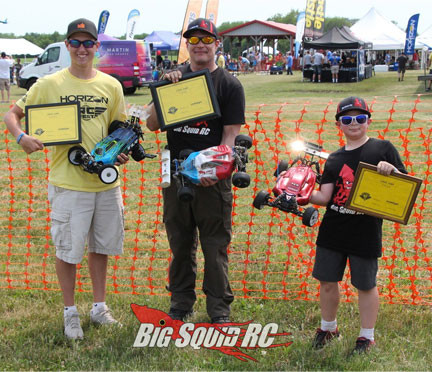 Big Squid Long Jump Winners