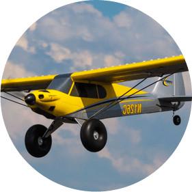 Pilot a HobbyZone Carbon Cub S+ Plane