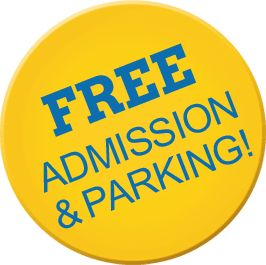 Free Admission & Parking
