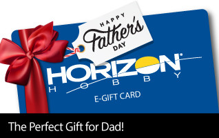 Horizon Hobby eGift Cards - the Perfect Gift for Father's Day!