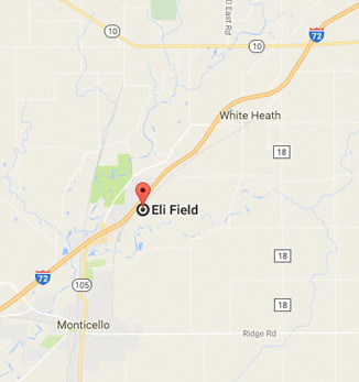 Map to Eli Field