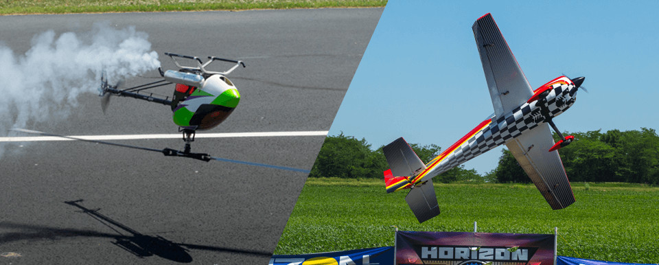 Professional RC Demonstrations