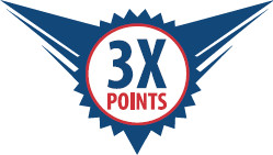 Earn Triple Points