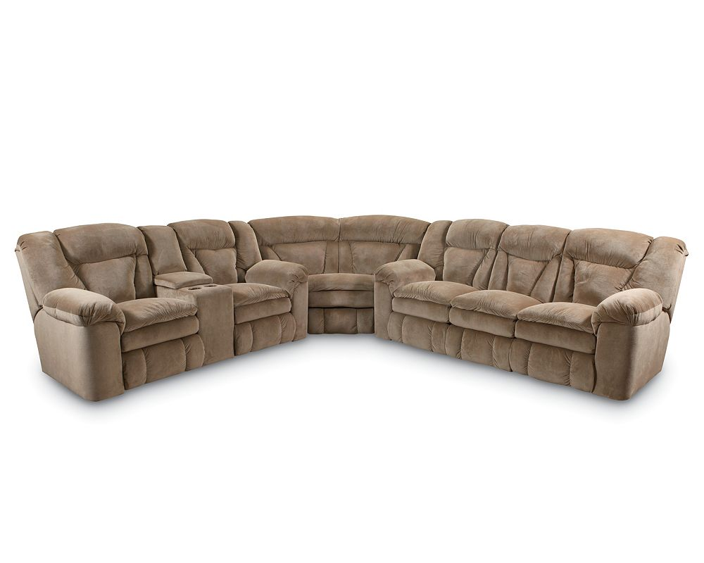 Lane Leather Reclining Sectional Sofa Refil Sofa