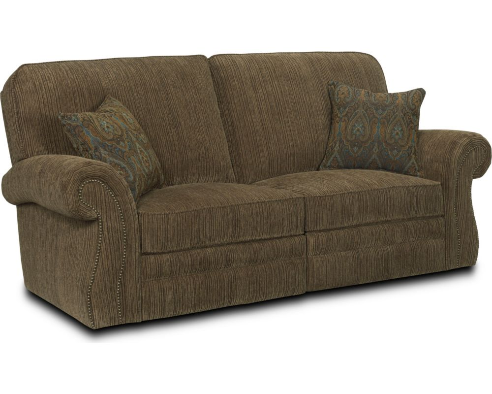 Lane Reclining Sofa With Drop Down Table Refil