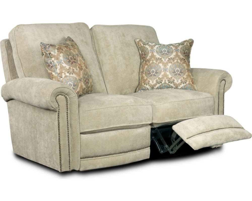 Reclining Sofa With Nailhead Trim Sofa Menzilperde Net