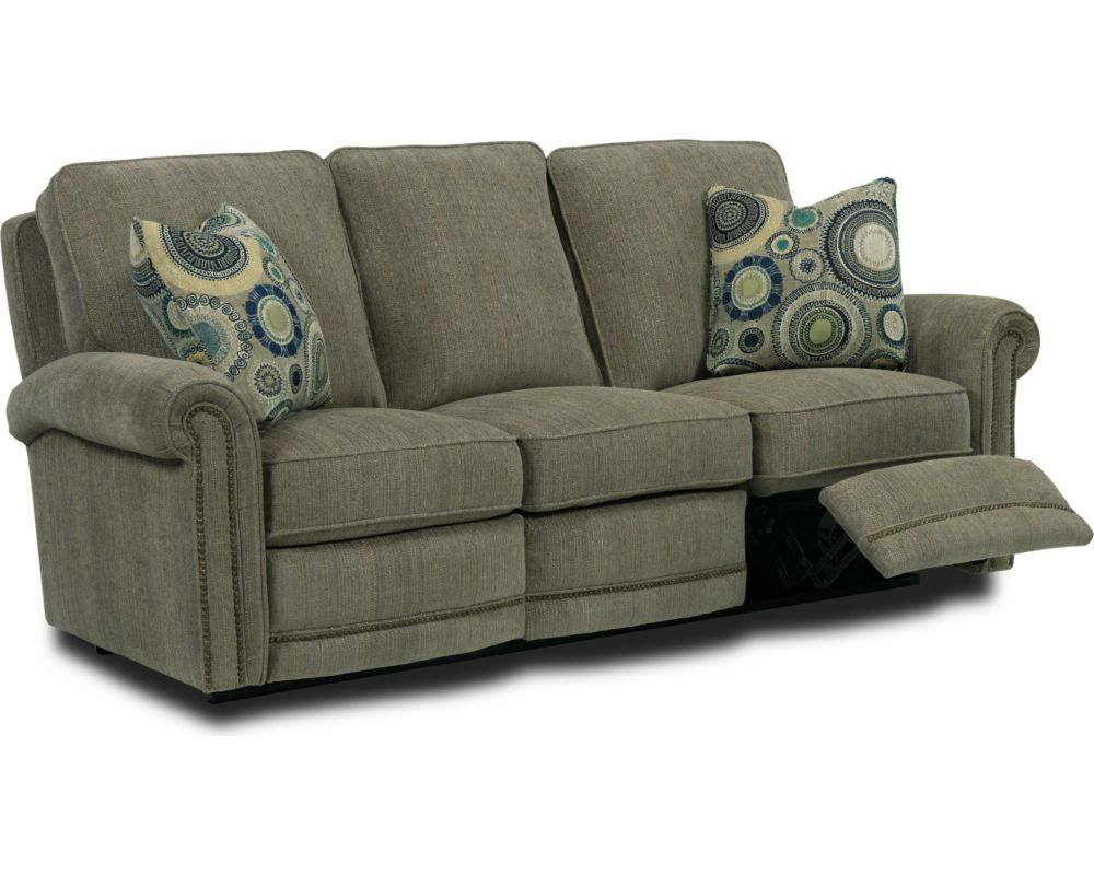 Broyhill double reclining sofa refil sofa for Sectional sofa with double recliner