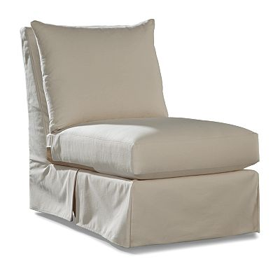 Carolyn Armless Chair- Club