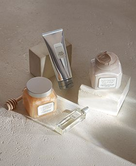 Laura Mercier luxe bath collection