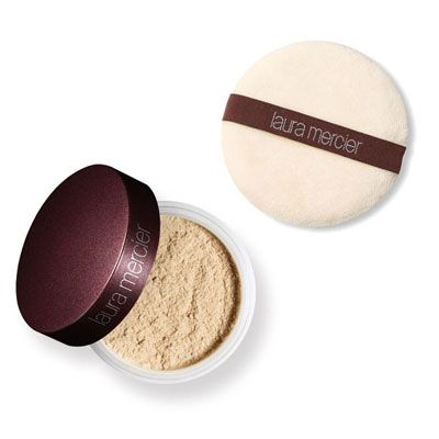 Translucent Loose Setting Powder with Puff