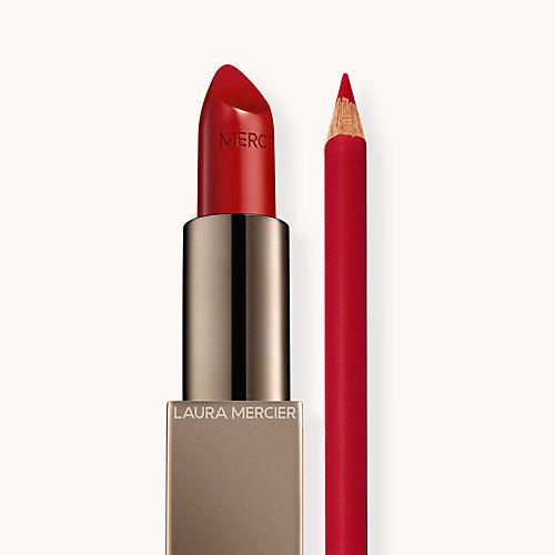Rouge Essentiel Rouge Ultime + Longwear Lip Liner Crimson