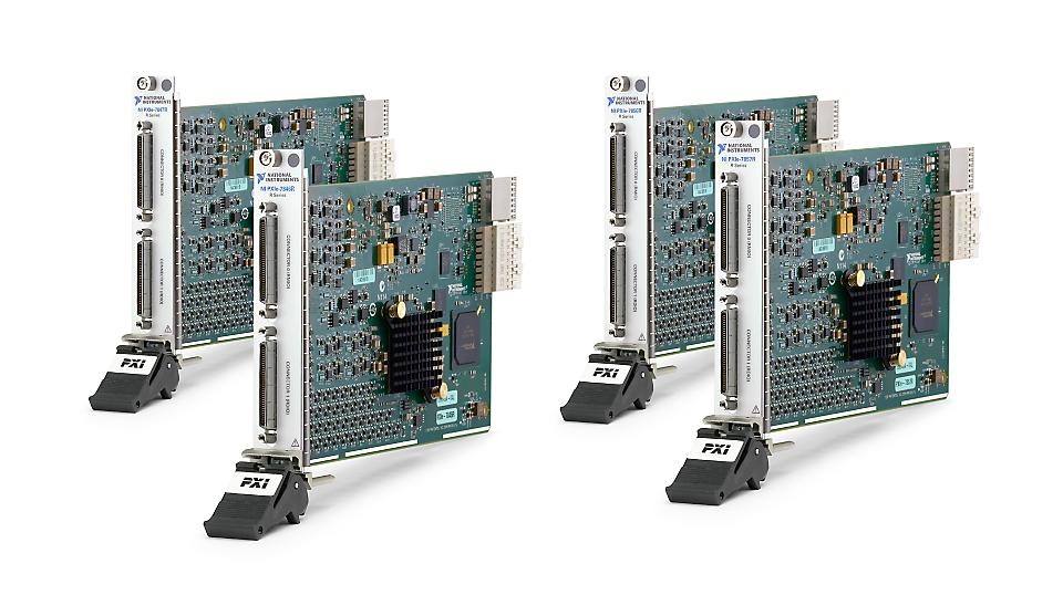 PXI Multifunction Reconfigurable I/O Module